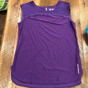 New Balance purple sleeveless top